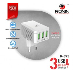 Ronin R-575 3 USB Universal Charger